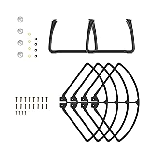 Holyton Spare Parts Cash Accessories Kits for Holy Stone HS100 GPS Drone Quadcoter by Drone7400