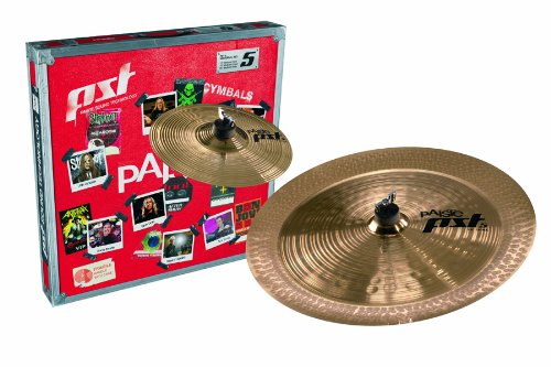 PST5 Cymbal Set Effects 10 Splash, 18 China 18 China Paiste 65FXPK