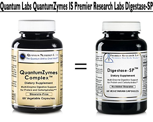 Amazon.com: quantumzymes Complejo, 240 Vcaps 4 botellas ...