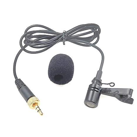VEVICE Clip Micrófono Maestros Diadema Solapa Trigo Guía de la ...