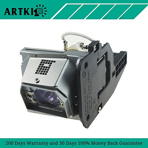 1510X / 330-6581 / 725-10229 Replacement Lamp for Dell 1510x 1610HD 1610X (by Artki)