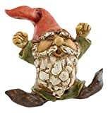 Top Collection Miniature Fairy Garden and Terrarium Garden Gnome Yawning Statue For Sale