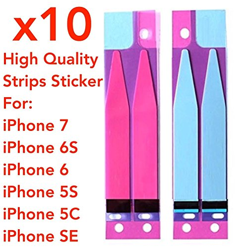 10 Adhesive Glue Sticker Tape for iPhone 5 - 2