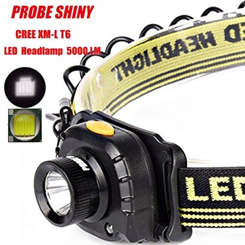 Flashlight,Baomabao 5000LM Headlight CREE XM-L XPE LED Headlamp Flashlight Head Light (Flash Spring Pro)