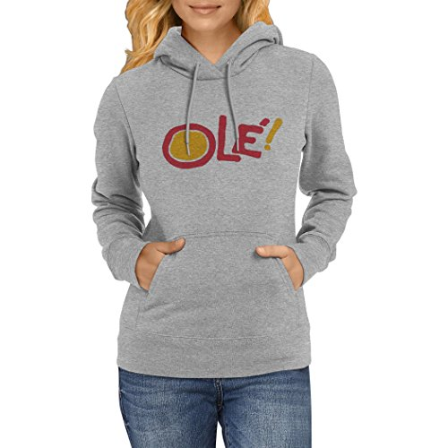Ole! Spain! - Funny Stylish Women Hoodie! Great present!