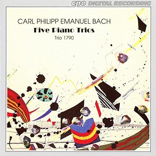 Carl Philipp Emanuel Bach: Five Piano Trios (Sonatas Wq. 89/1, 5 & 6 / Wq. 90/3 / Wq. 91/3 & 4) - Trio 1790