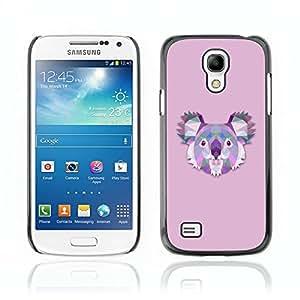 Super Stellar Slim PC Hard Case Cover Skin Armor Shell Portection // V0000535 Triangle Koala Design// Samsung Galaxy S4 MINI i9190 i9192 i9195