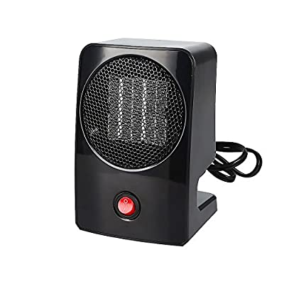 LAGUTE Portable Heater Tabletop/Floor with Thermostat