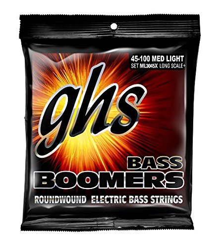 GHS Strings BASS BOOMERS M3045X Long Scale Plus, Medium Set