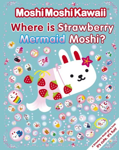 MoshiMoshiKawaii Where Strawberry Mermaid Moshi product image