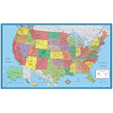 24x36 United States, USA, US Classic Elite Wall Map Mural Poster Folded