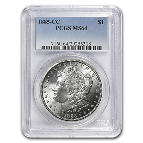 1885 CC Morgan Dollar MS-64 PCGS $1 MS-64 PCGS