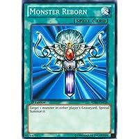 Yu-Gi-Oh - Monster Reborn SDBE-EN028 - Structure Deck Saga of Blue-Eyes White Dragon - 1st Edition - Common