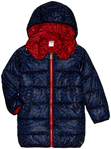 Price comparison product image Little Marc Jacobs Hooded Puffer Coat (Toddler / Kid) - Red / Blue - 2A