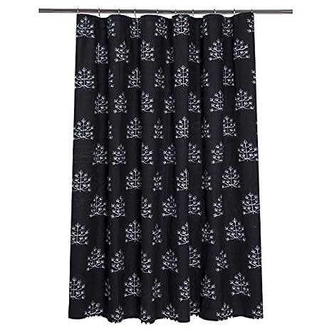 Nate Berkus Shower Curtain Botanical