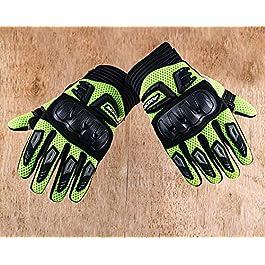 Axor Air Stream Black Neon Green Gloves-M