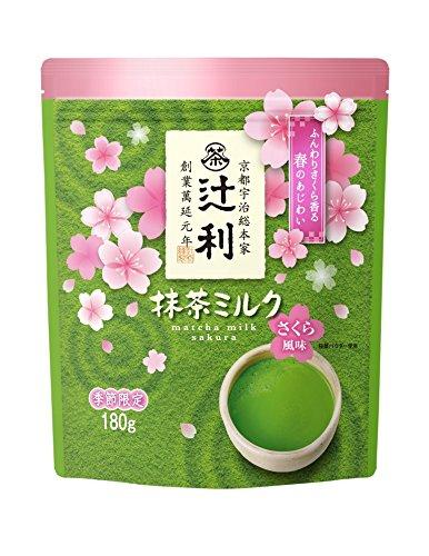 편강 물산 츠지리 녹차 밀크 사쿠라 벚꽃 향 180g×2 포
