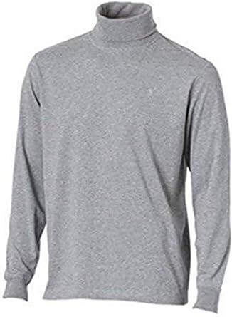 Camiseta de cuello de cisne de Heine en Gris plata - algodón, gris plata, 100% algodón. 100% algodón, hombre, 52/54: Amazon.es: Ropa y accesorios