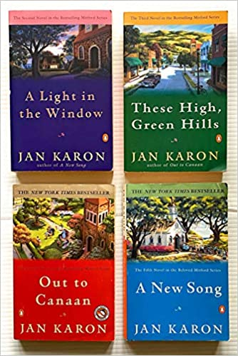4 Books! ~ The Mitford Years Books! 1) A Light in the Window 2) These High Green Hills 3) Out to Canaan 4) A New Song