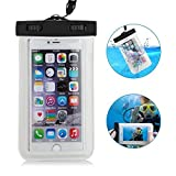 Universal Waterproof Case CellPhone Dry Bag for iPhone6S Plus SE 5S 7 Samsung Galaxy S7 for cell phone up to 6.0