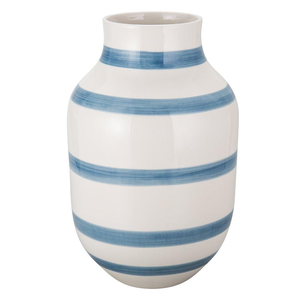 [ ケーラー ] Kahler オマジオ フラワーベース ラージ 30.5cm 花瓶 13038 ライトブルー Omaggio Vase H305 Light Blue 花びん ベース 北欧雑貨 [並行輸入品] B077KV3L7Tライトブルー
