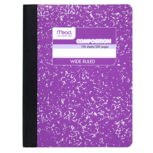 Mead Composition Notebook Purple 72247