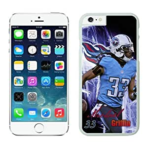 Tennessee Titans Michael Griffin Case For iPhone 6 White 4.7 inches