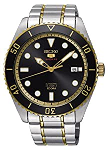 Seiko Series 5 Automatic Two-Tone Stainless Steel Mens Watch SRPB94
