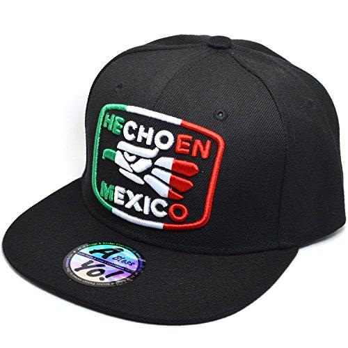 b0563c770a4 AblessYo Hecho EN Mexico Baseball Cap Eagle Mexican Aguila Snapback ...