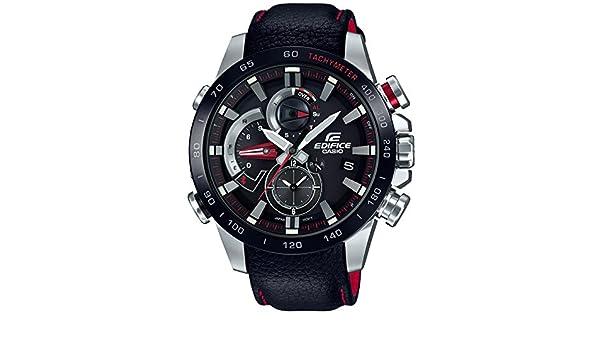 Amazon.com: CASIO EDIFICE RACE LAP CHRONOGRAPH EQB-800BL-1AJF MENS JAPAN IMPORT: Watches