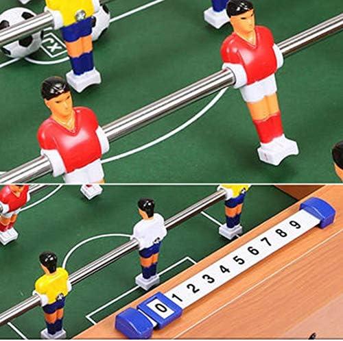Calcio Balilla Giocattolo di Legno Nessun Odore Portare in Giro Mini Calcio Balilla Esercita Il Tuo Cervello Partita di Calcio Giochi per Bambini, 2 Taglie (Size : 69x37x24cm)