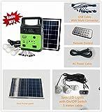 10-Watt Solar Generator Portable kit,Power Inverter,Solar...