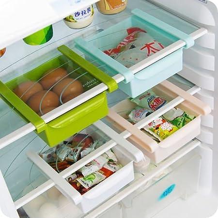 Tijera de cocina nevera congelador estante de rack ahorro de ...