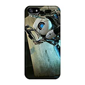 UYpcVoV4629zLyvX Case Cover Protector For Iphone 5/5s Portal 2 Case