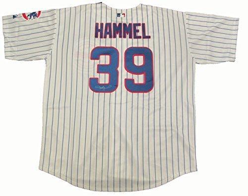Majestic Jason Hammel Autographed Chicago Cubs Jersey W/P...