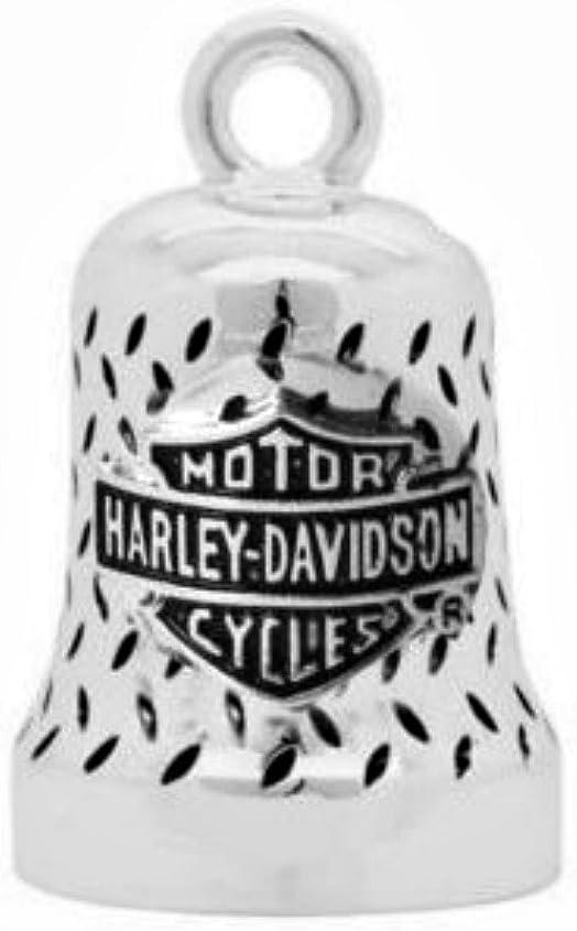 Harley Davidson Motorrad Ride Bell Anhänger Glücksbringer Willie G Diamond Plate Auto