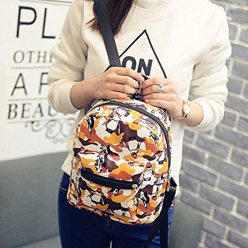 Cute Color Fashion Widewing Hit Shoulder Mini Bag PU Backpack Leather Women New qzwqaBF
