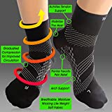 TechWare Pro Compression Sock - Ankle Support for