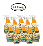 PACK OF 10 - ARM & HAMMER Baking Soda Multi- Cat Litter Deodorizer 21.5 fl. oz. Trigger Spray