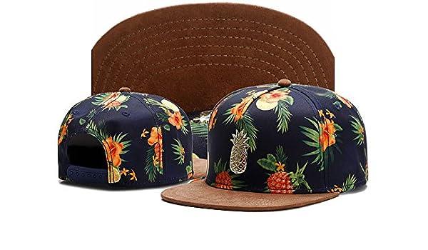 Amazon.com  XENO-Fashion Mens Cayler Sons Pineapple Baseball Cap Hip hop  Snapback Adjustable Hat  Home   Kitchen baee05736b7b