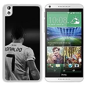 New Custom Designed Cover Case For HTC Desire 816 With Hc Cristiano Ronaldo Real Madrid Soccer Dark (2) Phone Case