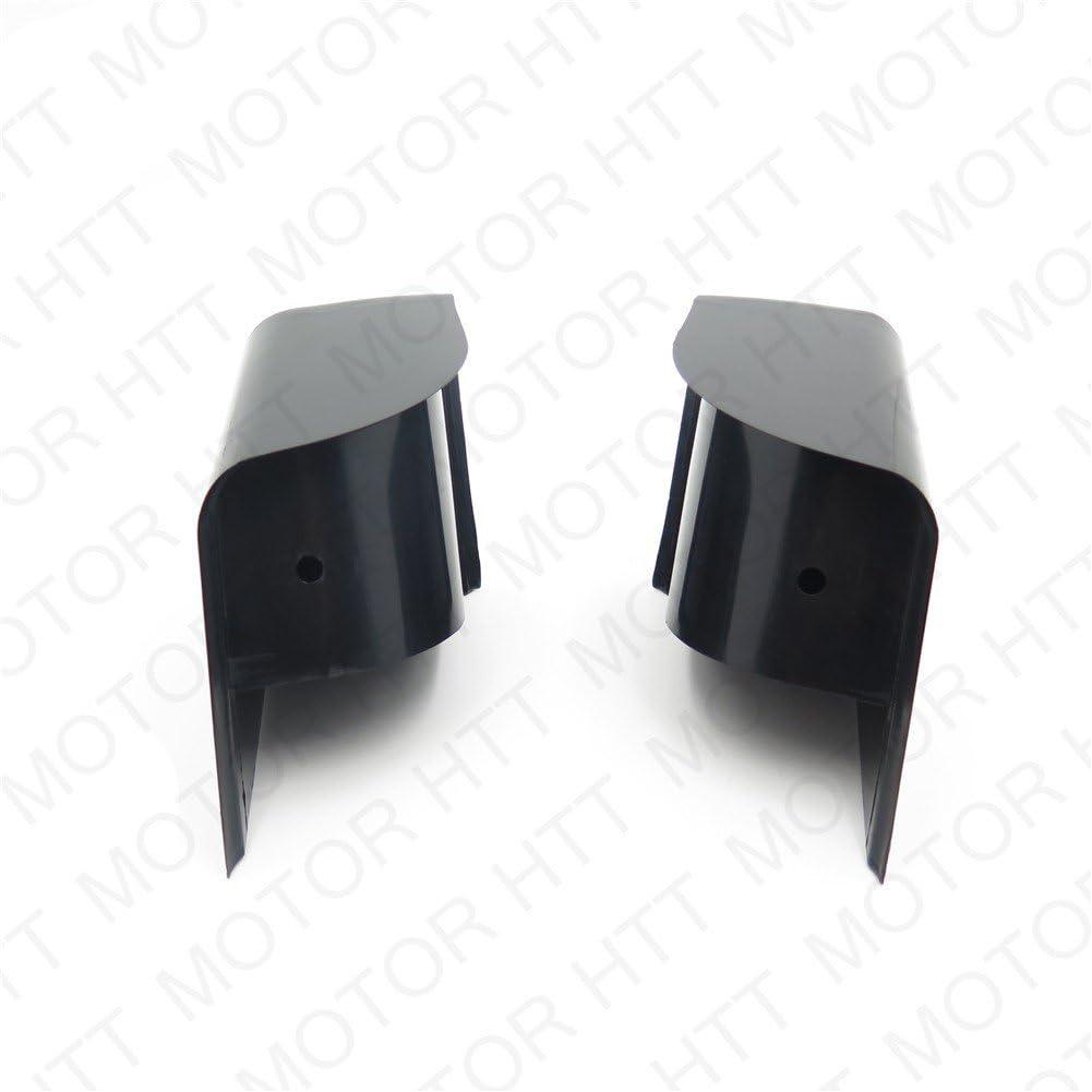 XKMT-Left Right Side extended saddlebag block off Plug Compatible With Harley Touring 2014 /& up B01MST71K9