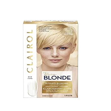 6ec8ffe76f9 Amazon.com : Clairol Born Blonde Ultimate Blonding Hair Color 1 ea :  Chemical Hair Dyes : Beauty