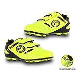 Optimum Boys Tribal Moulded Stud Football Training Shoes, Yellow (Fluro Yellow/Black), 12 Child UK