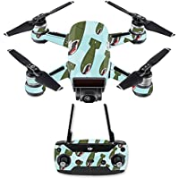 Skin for DJI Spark Mini Drone Combo - Bombs Away| MightySkins Protective, Durable, and Unique Vinyl Decal wrap cover | Easy To Apply, Remove, and Change Styles | Made in the USA
