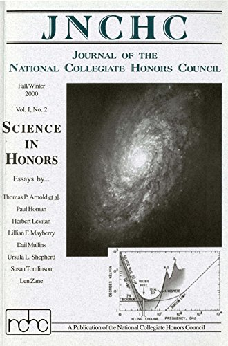 Journal of the National Collegiate Honors Council 1.2: Science in Honors