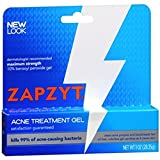 WALTMAN PHARMACEUTICALS ZapZyt Acne Treatment Gel - 1 oz