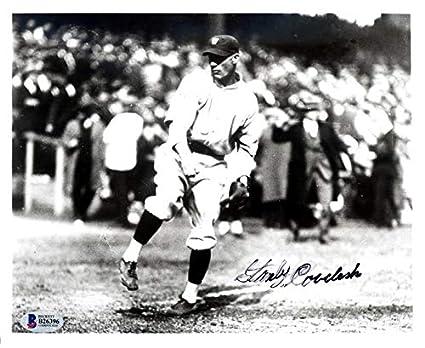מדהים Autographed Stan Coveleski Photograph - 8x10 Washington Senators KK-38