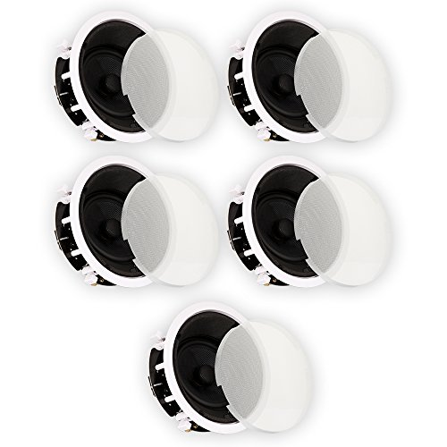 Theater Solutions TSS6A Home Theater Deluxe In Ceiling 6.5' Angled 5 Speaker Set 5TSS6A