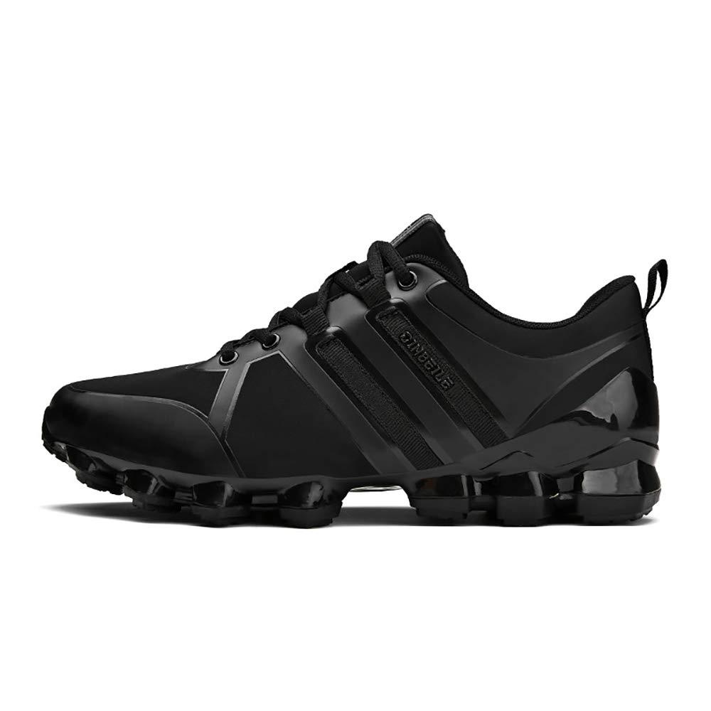 ETYGYH Herrenschuhe, Herbst-und Winter-Leichtbaufelbahn Sportlauf Running Schuhe Fashion Non-Slip Fliegenden gewänder Mesh Schuhe,D,43